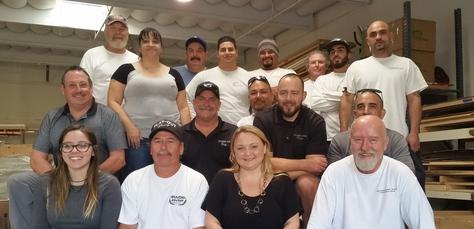 Group photo of the Generations West Construction staff