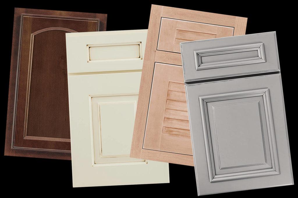 Examples of various cabinet door styles